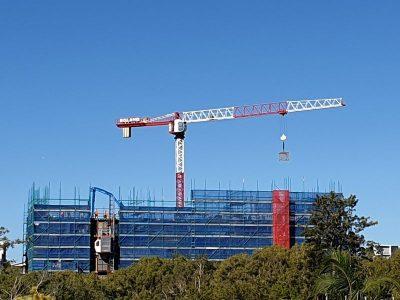 Flat Top Crane Hire Brisbane