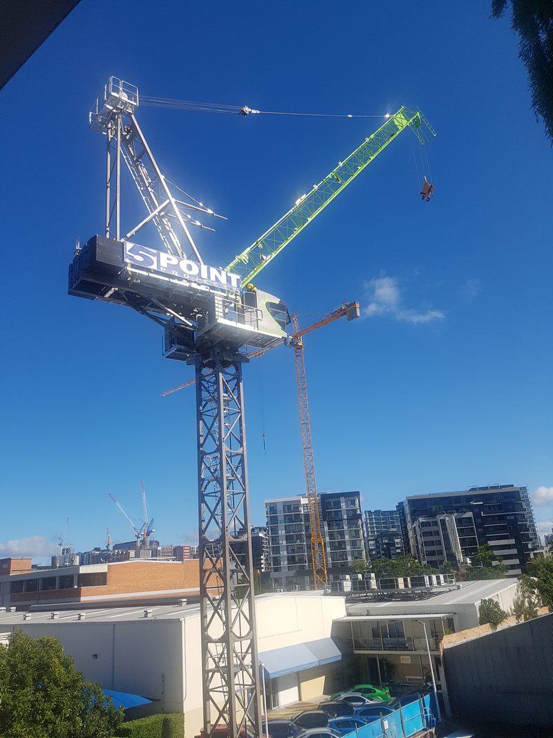 Luffing Crane Brisbane - Boland Cranes