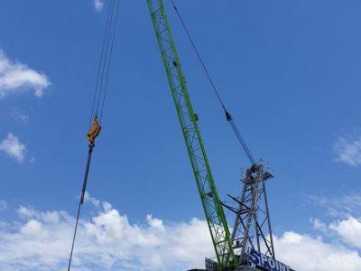 Luffing Crane Hire Brisbane