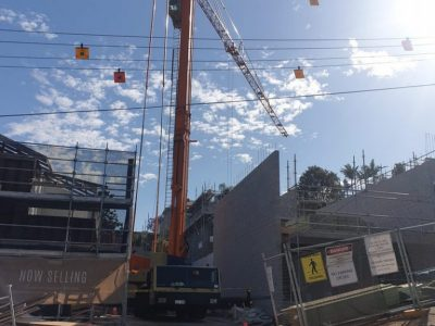 Mobile Tower Crane Hire Brisbane